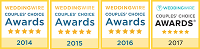 WeddingWire Badges